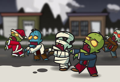 Animated Zombie Spritesheet for GameSalad & Unity | GSHero com